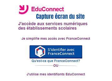 creer compte educonnect avec franceconnect
