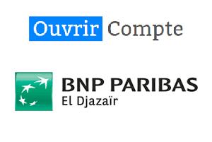 Comment ouvrir un compte BNP Paribas Algérie en ligne ?